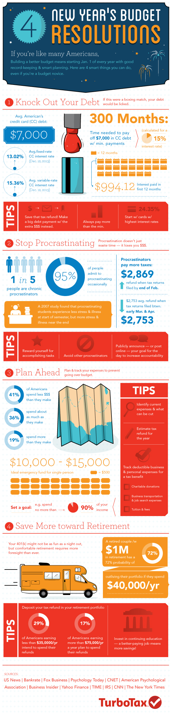 tax tips infographic